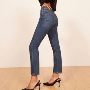 NWT✨REFORMATION Julia High Cigarette Jean